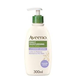 Loción hidratante diaria de Aveeno - Lavanda 300 ml