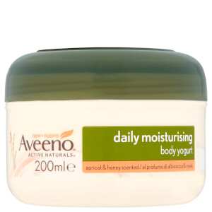 Yogur corporal hidratante diario de Aveeno - Apricot and Honey 200 ml