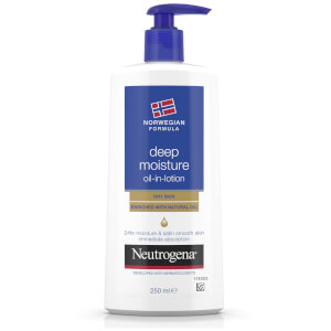 Neutrogena Norwegian Formula Deep Moisture Oil-in-Lotion 250ml