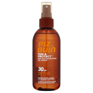 Piz Buin Tan & Protect Tan Accelerating Oil Spray - High SPF 30 150 ml