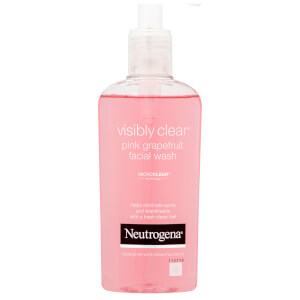 Neutrogena Visibly Clear Pink Grapefruit Facial Wash 200ml
