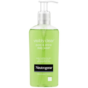 Limpiador diario Pore and Shine Visibly Clear de Neutrogena 200 ml