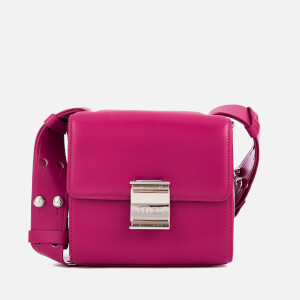 KENZO Women's Clasp Small Shoulder Bag - Deep Fuchsia