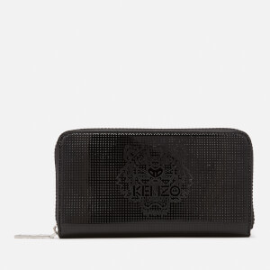 KENZO Women's Icons Continental Wallet - Black