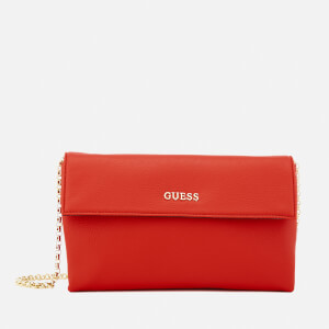 Guess Women's Tulip Envelope Clutch Bag - Red