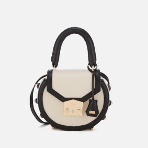 SALAR Women's Mimi Bold Bag - Black/White