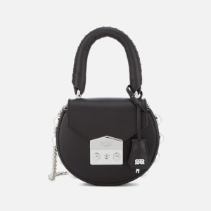 SALAR Women's Mimi Mini Pearl Bag - Black
