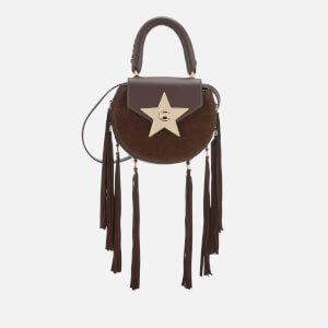 SALAR Women's Mimi Fringe Bag - Chocolate