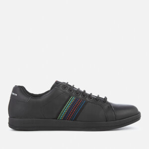 PS by Paul Smith Men's Lapin Leather Cupsole Trainers - Black