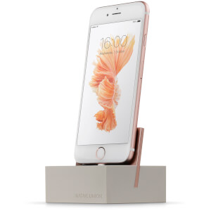 Native Union Marble Dock For iPhone - White