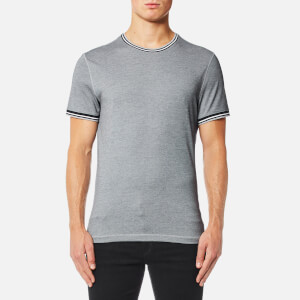 Michael Kors Men's Tipped Neck T-Shirt - Midnight