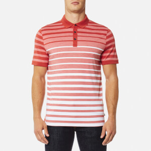 Michael Kors Men's Engineered Birdseye Polo Shirt - Spice