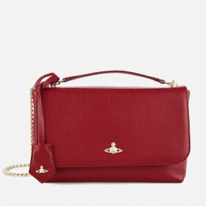 Vivienne Westwood Women's Balmoral Large Flap Bag - Red