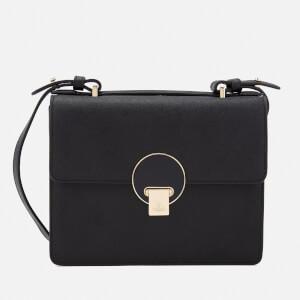Vivienne Westwood Women's Opio Saffiano Small Shoulder Bag - Black