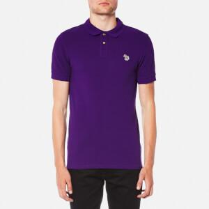 PS by Paul Smith Men's Slim Fit Zebra Logo Polo Shirt - Purple