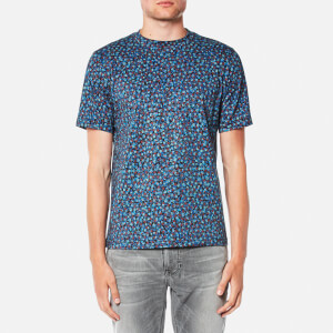 PS by Paul Smith Men's Regular Fit Marble Print T-Shirt - Marble