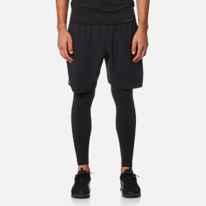 FALKE Ergonomic Sport System Men's Long Tights Baselayer - Black