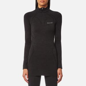 FALKE Ergonomic Sport System Women's Zip-Shirt Base Layer - Black