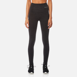 FALKE Ergonomic Sport System Women's Long Tights Base Layer - Black