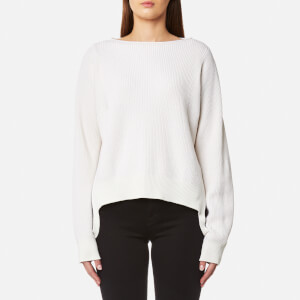 Helmut Lang Women's Essential Pullover Jumper - Ivory