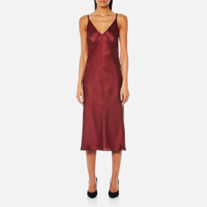 Helmut Lang Women's Deconstructed Slip Dress - Ruby