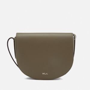 Lauren Ralph Lauren Women's Dryden Caley Mini Cross Body Bag - Sage/Caramel