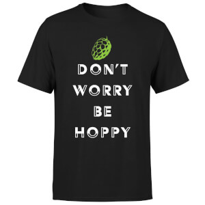 Beershield Don't Worry Be Hoppy Men's T-Shirt