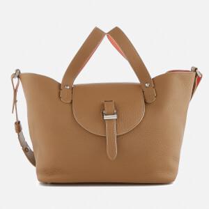 meli melo Women's Thela Medium Floater Bag - Light Tan/Persimonio