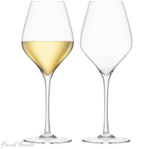 Final Touch Durashield White Wine Glasses 440ml (Set of 2)