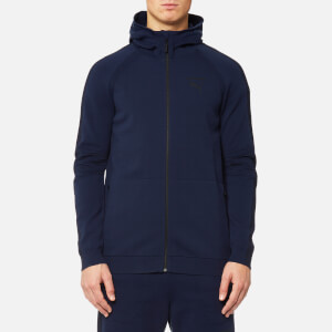 Puma Men's Evo Knit Move Full Zip Hoody - Peacoat