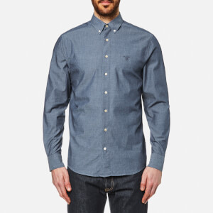GANT Men's Indigo Chambray Button Down Shirt - Indigo