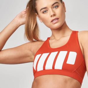 Myprotein Beat Sports Bra - Clay Red - XS