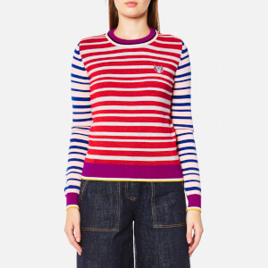 KENZO Women's Tiger Crest Wool Knitted Jumper - Multi
