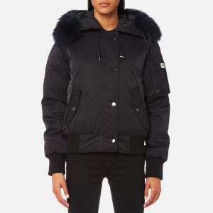 KENZO Women's Technical Outerwear Bomber Jacket - Black
