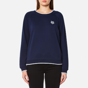 KENZO Women's Tiger Crest Raglan Sweatshirt - Blue