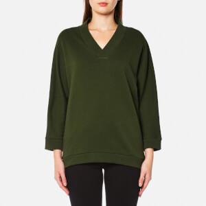 KENZO Women's Light Brushed Molleton Sweatshirt - Dark Khaki