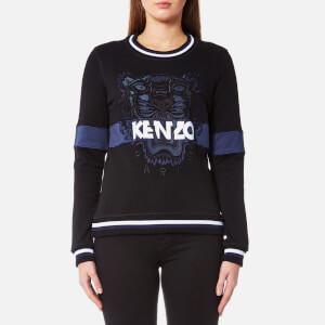 KENZO Women's Urban Tiger Molleton Sweatshirt - Black
