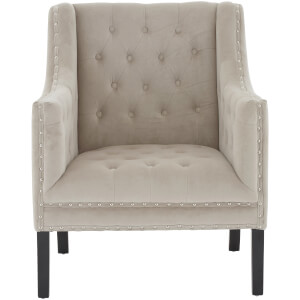 Regents Park Arm Chair - Camel Velvet