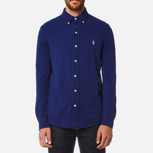 Polo Ralph Lauren Men's Featherweight Mesh Shirt - Navy
