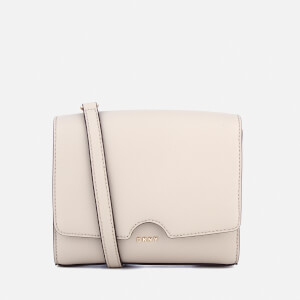 DKNY Women's Bryant Park Mini Flap Cross Body Bag - Blush Grey