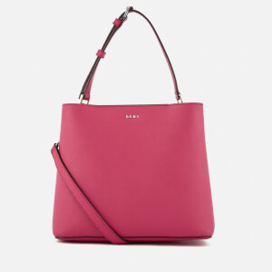 DKNY Women's Bryant Park Small Bucket Bag - Cerise