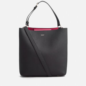 DKNY Women's Bryant Park Large Bucket Bag - Black