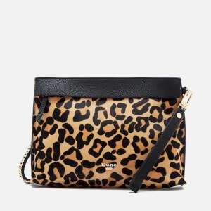 Dune Women's Eharriet Leopard Print Clutch Bag - Leopard