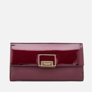 Dune Women's Kammie Patent Purse - Berry