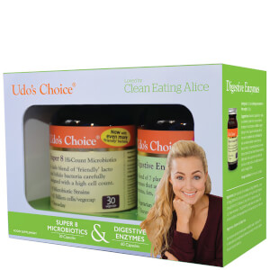 Udo's Choice Limited Edition Twin Pack Featuring Clean Eating Alice