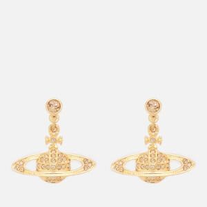Vivienne Westwood Women's Mini Bas Relief Drop Earrings - Gold