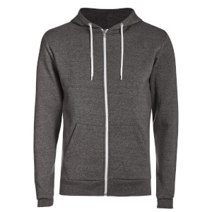 Advocate Men's Berkley Zip Through Hoody - Charcoal