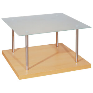 Fifty Five South Chrome Effect Side Table