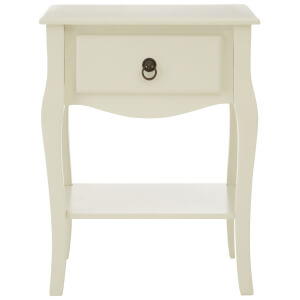 Fifty Five South Sorrento Side Table - Ivory
