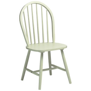 Fifty Five South Vermont Boston Chair - Pastel Green Wood